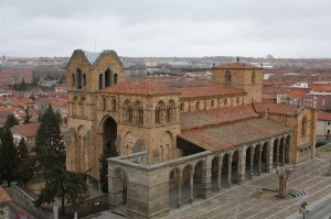 Basilica of St. Vincent, Avila