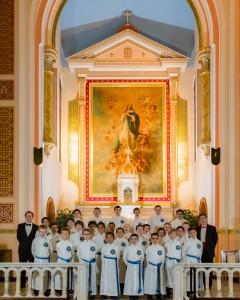 2015-2016 Savio Boy Choir Group Shot taken by Paul Stewart, fotosbystu.com